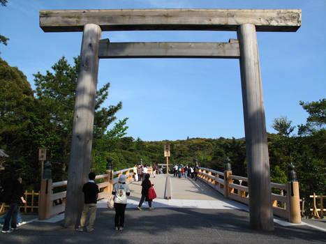 Bridge to Ise Jingu
