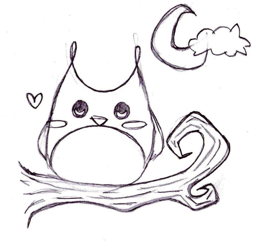 easy owl drawings wwwimgkidcom the image kid has it
