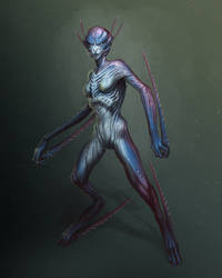 Aqua Mantis by mosingo