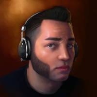 Self-Portrait 01: Digital Painting by mosingo