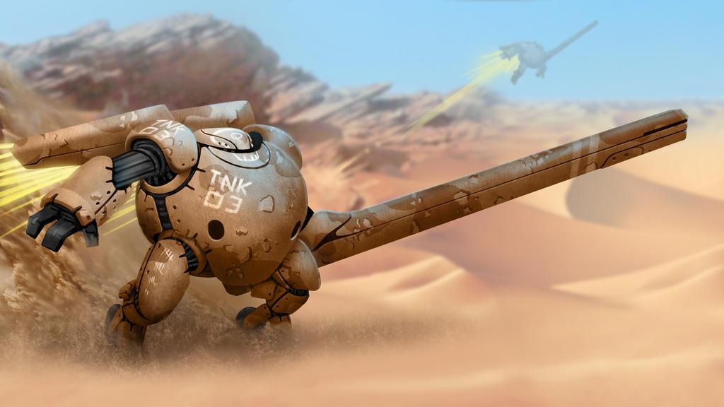 Mobile Tank by mosingo