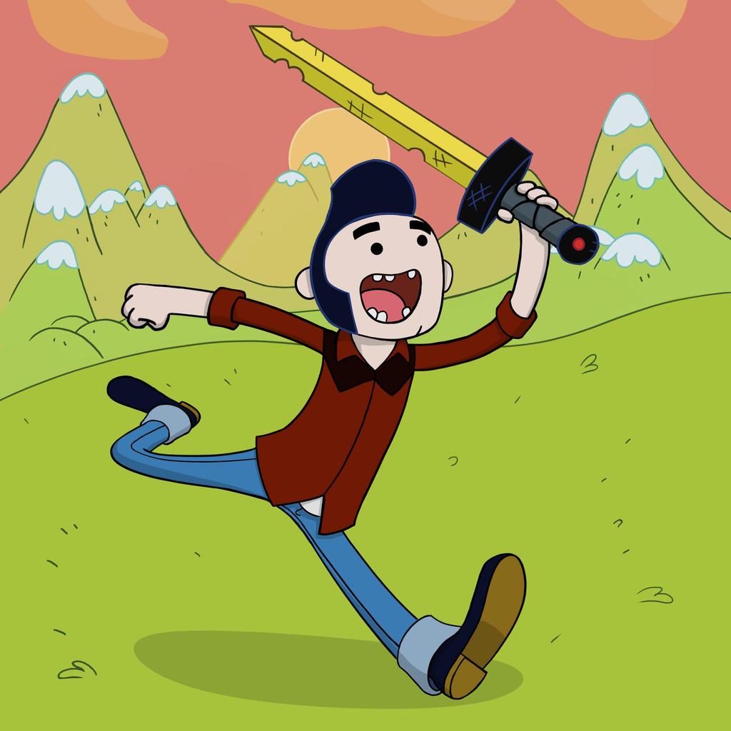 Self-Portrait 03: Adventure Time by mosingo
