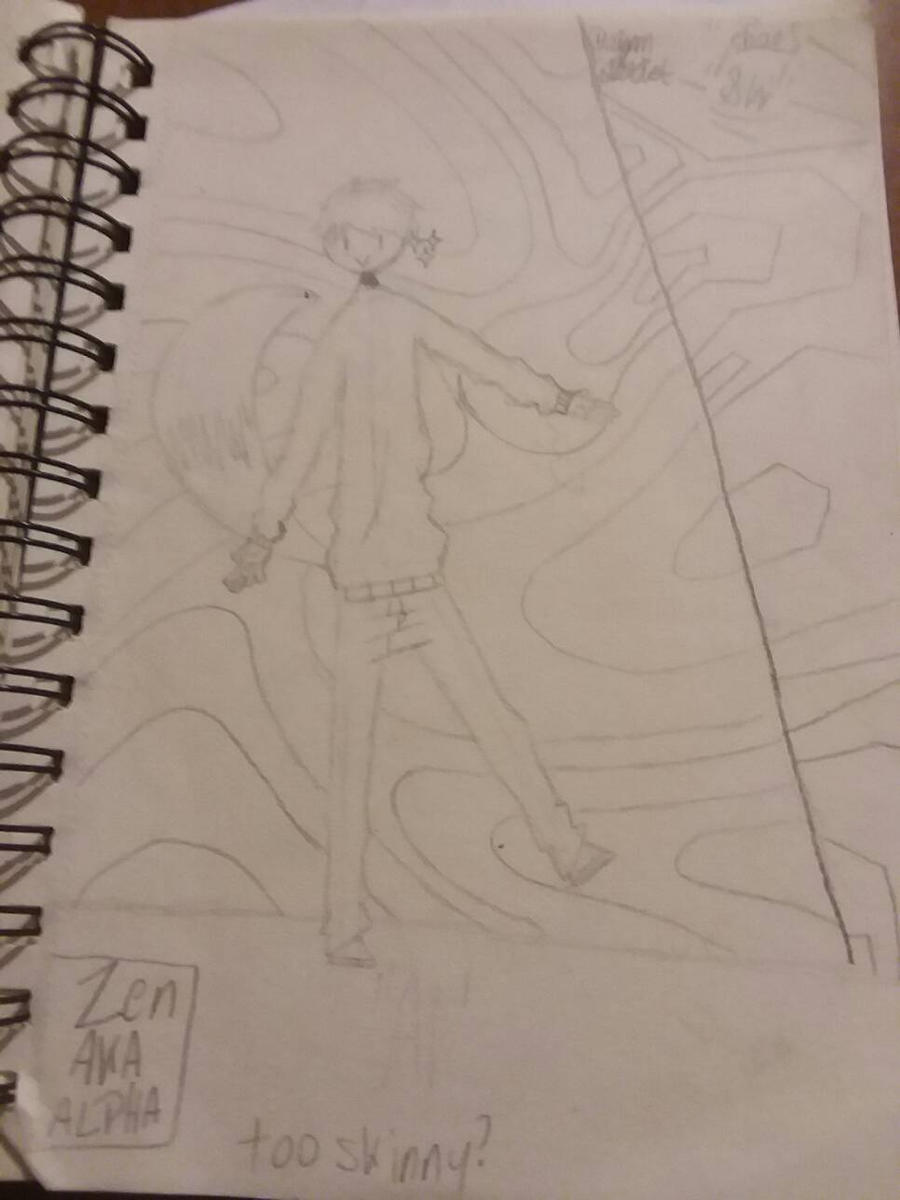 Skinny Boye by H20wolf