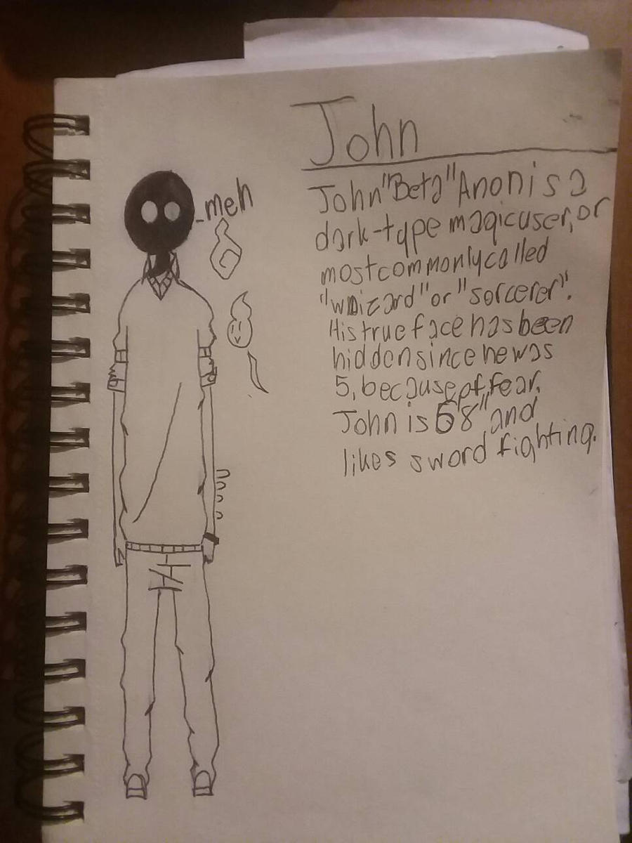 John  by H20wolf