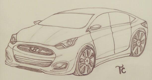 Hyundai Verna by Taruncreation