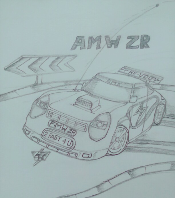 AMW ZR by Taruncreation