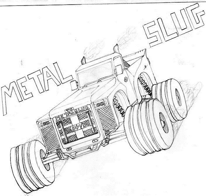 METAL SLUG by Taruncreation
