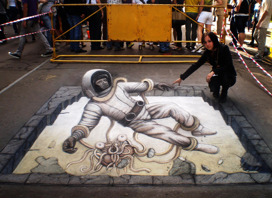 3d street art by artmagistr