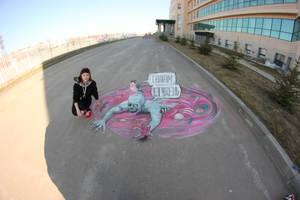 Borscht with zombie by artmagistr