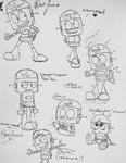 Robot Jones Drawings