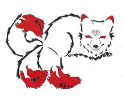 Kitsune Grin-Tattoo by naruto32