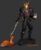 Commission: Meyren Sevalar by SkullCandister