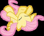 Fluttershy Politely Asks For Snuggles