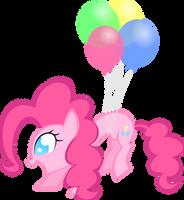 Balloon Pinkie by KalleFlaxx
