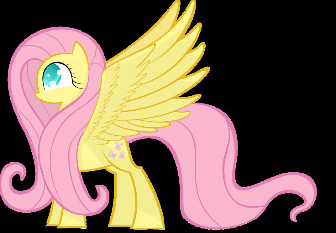 Fluttershy Has Wings by KalleFlaxx