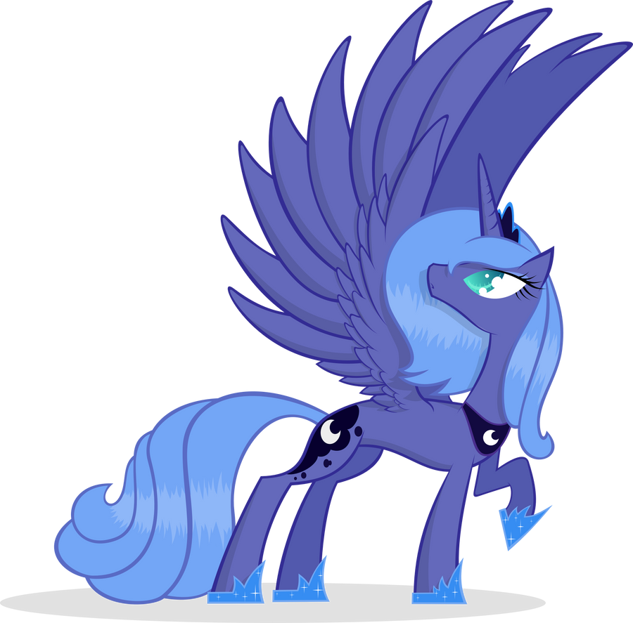 Princess Luna Has Wing...