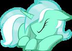 Sleeping Lyra