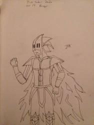 Inktober 2020 oct 14 armor