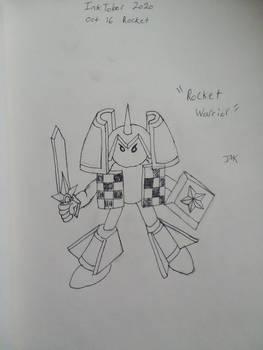 Inktober 2020 oct 16 rocket