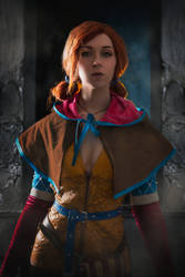 Triss Merigold Witcher 3 Cosplay by vika-mark