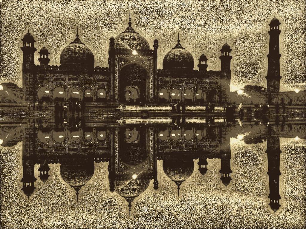 Badshahi Mosque by khanf