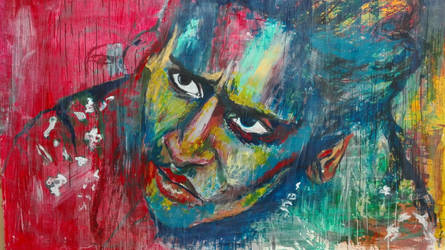 Exhausted colour portrait!!! by khanf