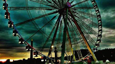 London Eye by khanf