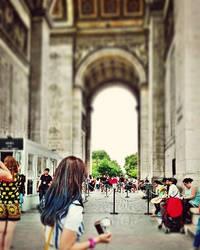 Arc De Triomphe  by khanf