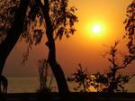 sunset in karsiyaka