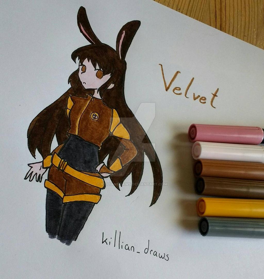 Velvet Scarlatina from RWBY by KillianDraws