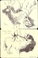 moleskine sketches1 by ToboeYuki