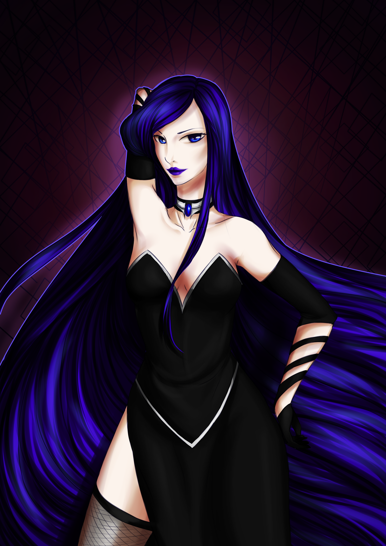 CE: Beautiful and Evil by AmaranthicalRose