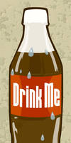 Drink Me Vector by kit-t