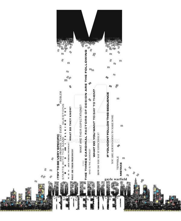 Modernism vs Post Modernism by kit-t