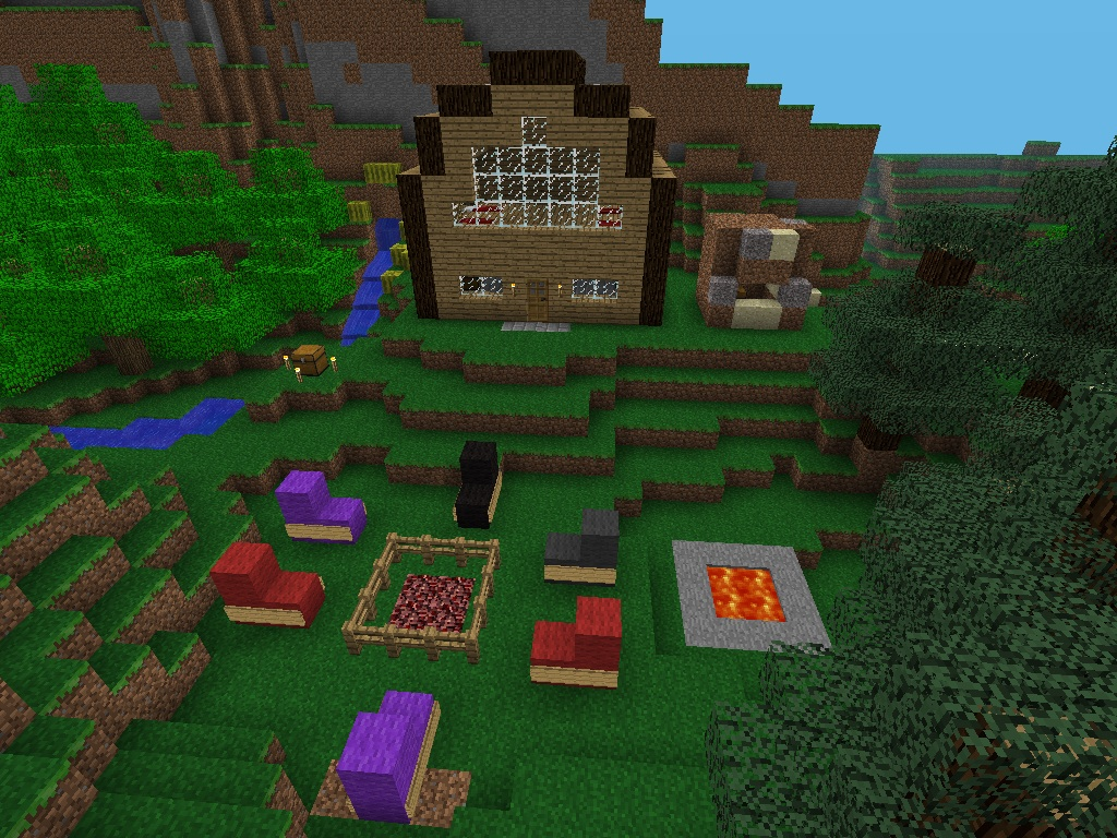 Cool minecraft houses xbox 360 2017 2018 best cars reviews for Best house designs minecraft pe