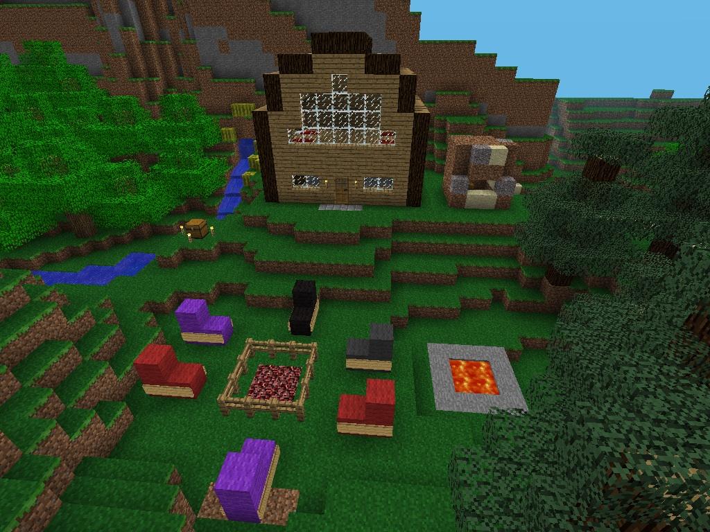 House from Code, made in Minecraft PE by YukiTenshiUchiha ...