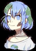 Earth-chan Headshot by call0w