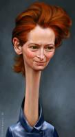 Tilda Swinton by KaceySchwartz