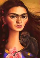Frida Kahlo by KaceySchwartz
