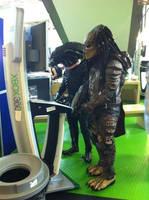 The Real Alien VS Predator by PedroTpredator
