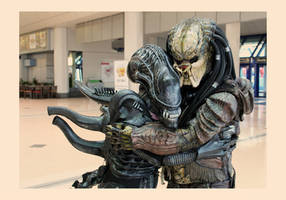 Give That Xeno Hugs, Xenos Love Hugs by PedroTpredator