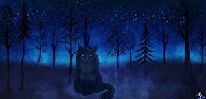 Art Colab -Blue Stars-