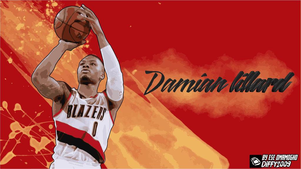 Damian Lillard Wallpapers  Basketball Wallpapers at
