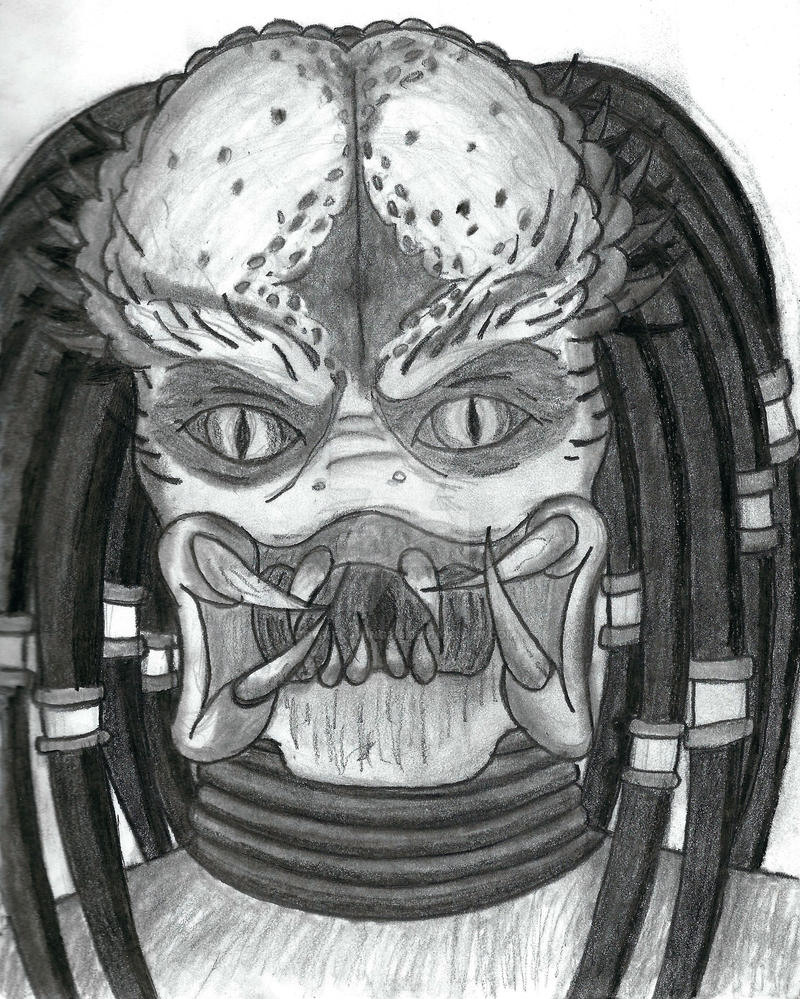 Predator Unmasked by downflowing218