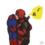 (Spideypool) deadpool x spiderman