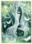 Edgewood's Butterfly Tree by myceliae