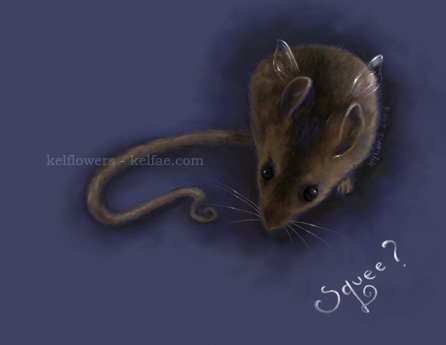 Faery Mouse by myceliae