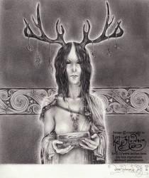 Deer Woman's Gift by myceliae