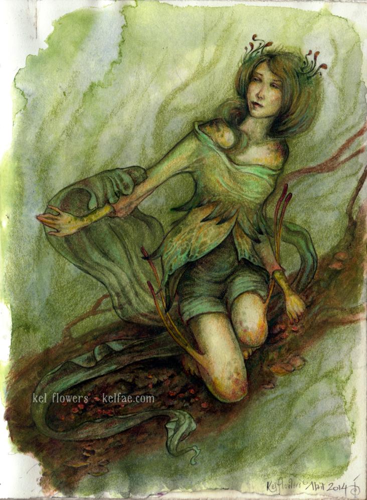 Lady Moss by myceliae