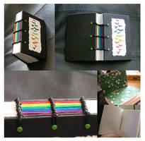 Rainbow Butterfly Book by myceliae